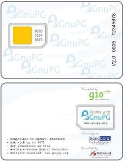 GnuPG на смарт-картах. Как это выглядит…
